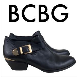 👑 BCBG LEATHER BOOTIES 💯AUTHENTIC